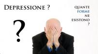 Forme di Depressione: quante sono?