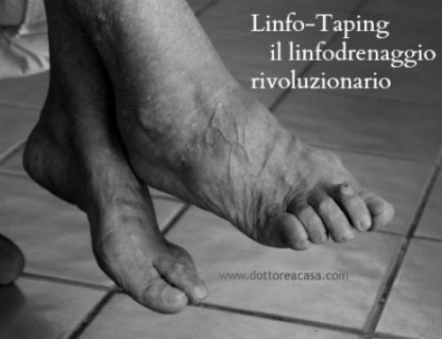Linfo-taping…un linfodrenaggio rivoluzionario