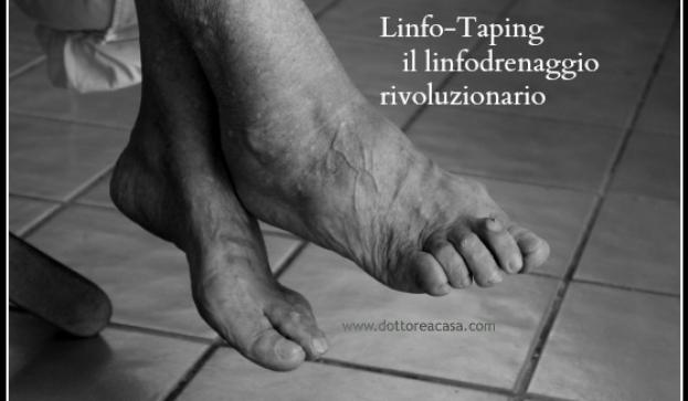Linfodrenaggio linfo taping