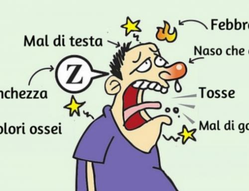 I sintomi influenzali spiegati passo per passo
